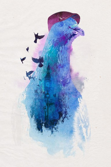 London Pigeon Robert Farkas