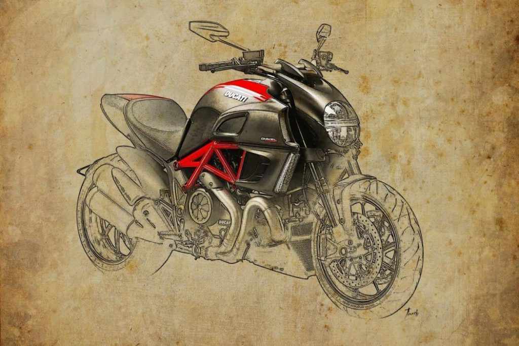 Ducati-Diavel-Carbon 2011 by Pablo Franchi