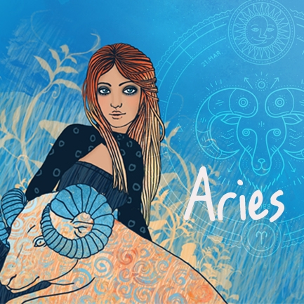 Aries - Art for the sign of the Ram