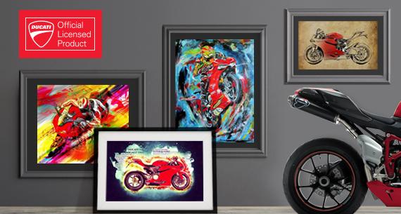 Official Ducati Wall Art