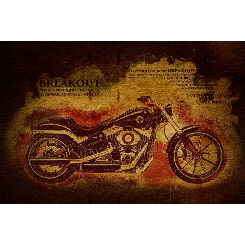 Harley Davidson Breakout Textured Edition