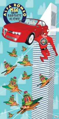 Alfa Romeo Man Vs. The Bad Taste Aliens