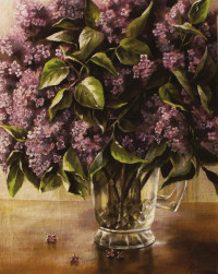 A Pitcher Of Lilacs