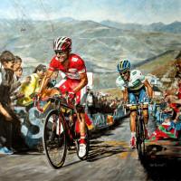 Vuelta 2012, Rodriguez Vs.Contador