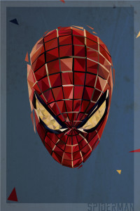 Polygon Heroes 06 (Spiderman)