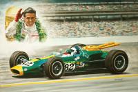 Jim Clark 1965 Indianapolis 500