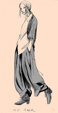 Yohji Yamamoto Illustration No. 4
