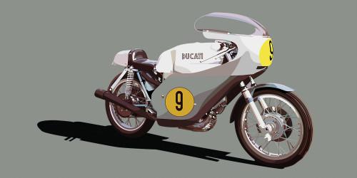 Ducati 500 GP 1971 - Grey