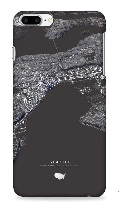 Seattle (Black & White)