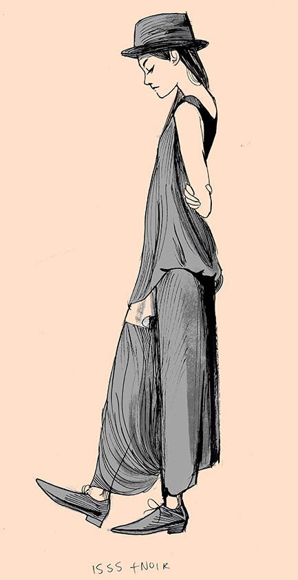 Yohji Yamamoto Illustration No.2