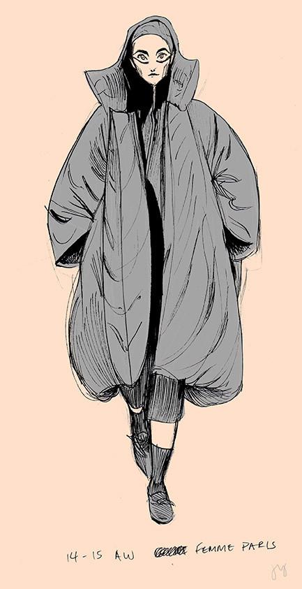 Yohji Yamamoto Illustration No.1